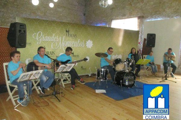 Grupo musical da APPACDM de Coimbra atua na Suíça
