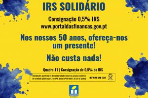 Consigne 0,5% do seu IRS à APPACDM Coimbra