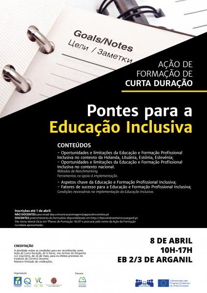 Ação de Formação: Pontes para a Educação Inclusiva