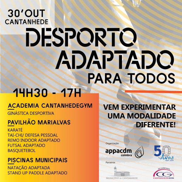 """""""Desporto Adaptado para Todos"""" desafia a experimentar modalidades diferentes"""