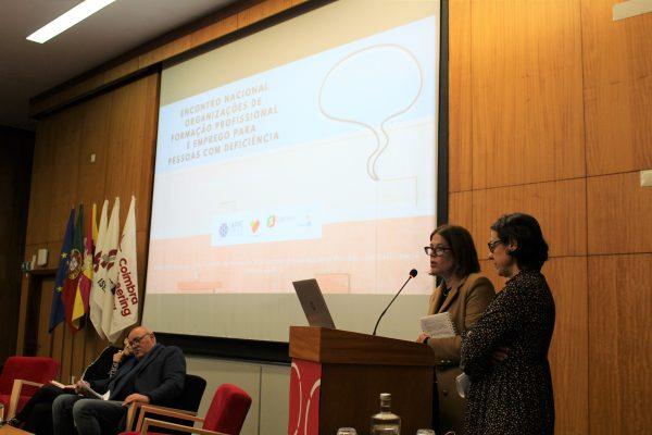 Encontro Nacional de Formação Profissional e Emprego conta com participação da APPACDM de Coimbra