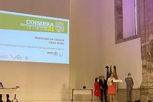 APPACDM Coimbra recebe Medalha de Ouro da Cidade